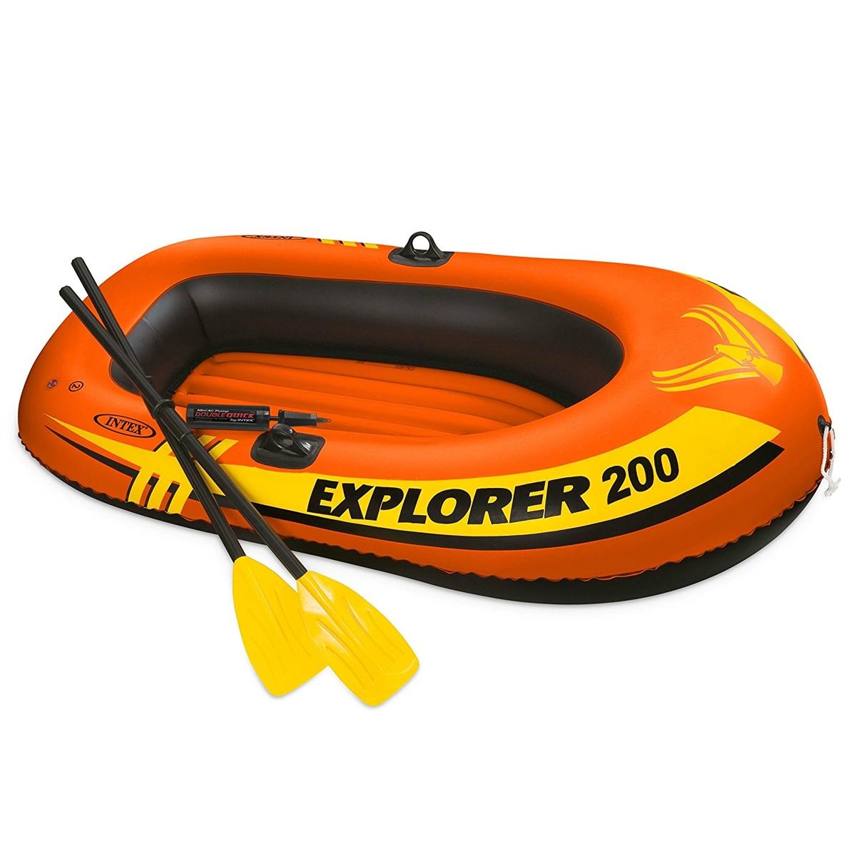İntex Kürekli Deniz Botu Havuz Botu Explorer 200 Bot 185cmx94cm Şişme Bot –  Bebekya